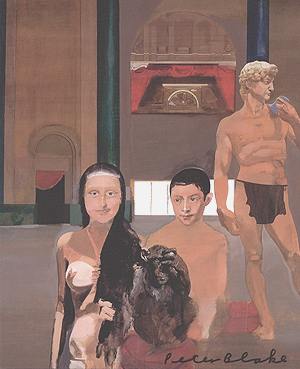 Peter Blake, Tarzan and his Family at the Roxy Cinema - signed artcard, 0063.jpg
