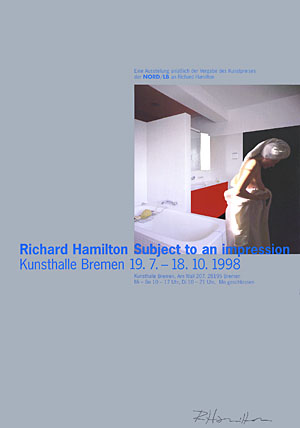 Richard Hamilton, Subject to an Impression Poster - signed, 0079.jpg