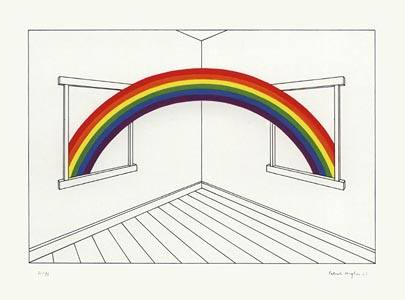 Patrick Hughes, Rainbow Coming In, 0085.jpg