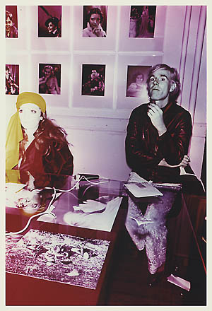 Andy Warhol, Viva and Andy at the Factory '68 - signed by Billy Name, 0156.jpg
