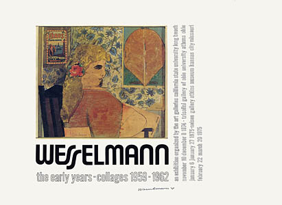Tom Wesselmann, The Early Years Poster - signed, 0158.jpg