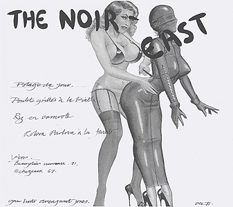Allen Jones, Noir East - original menu, 0297.jpg