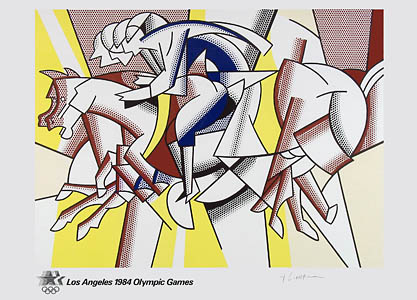 Roy Lichtenstein, Red Horseman - signed, 0315.jpg
