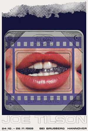 Joe Tilson, Transparency Clip-o-Matic Lips Poster, 0324.jpg