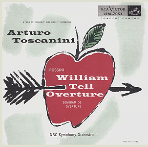 Andy  Warhol, William Tell Overture - 10inch LP - front cover, 0375.jpg