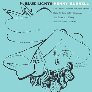 Andy Warhol, Blue Lights vol 1 - 12inch mono LP - front cover, 0388.jpg
