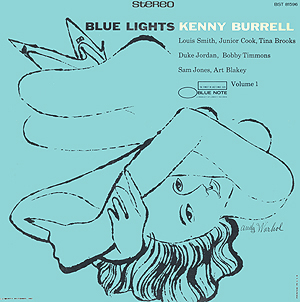 Andy Warhol, Blue Lights vol 1 - 12inch stereo LP - front cover, 0389.jpg