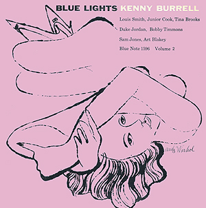 Andy Warhol, Blue Lights vol 2 - 12inch mono LP - front cover, 0390.jpg
