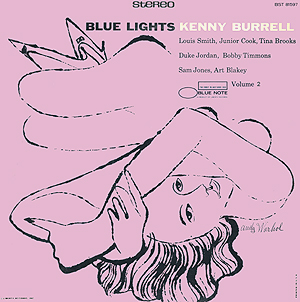 Andy  Warhol, Blue Lights vol 2 - 12inch stereo LP - front cover, 0391.jpg
