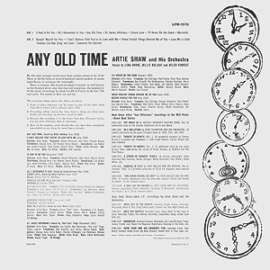 Andy  Warhol, Any Old Time (b) - 12inch LP - back cover, 0406.jpg
