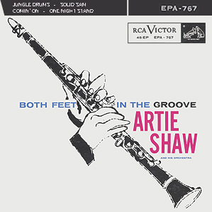 Andy Warhol, Both Feet in the Groove (b) - 7inch EP - front cover, 0432.jpg