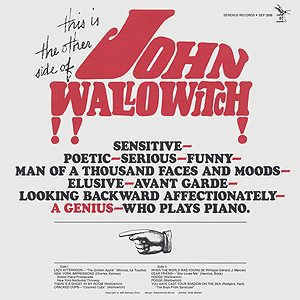 Andy  Warhol, This is the Other Side of John Wallowitch (a) - 12inch LP - front cover, 0436.jpg