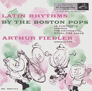 Andy Warhol, Latin Rhythms - 7inch EP - front cover, 0474.jpg