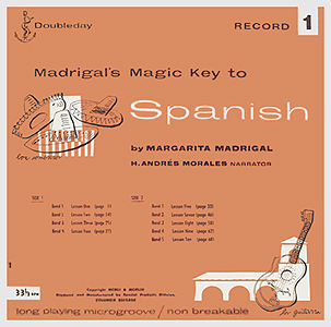 Andy Warhol, Madrigals Magic Key to Spanish 1 - 12inch LP - front cover, 0505.jpg