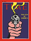 The Gun in America - cover illustration