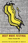Next Wave Festival Poster - signed