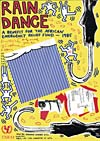 Rain Dance Poster - signed in the plate