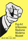 Pop Art and Nouveau Realisme Poster - signed