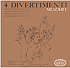 4 Divertimenti - 12inch LP - front cover