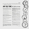 Any Old Time (b) - 12inch LP - back cover