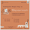 Madrigals Magic Key to Spanish 2 - 12inch LP - front cover